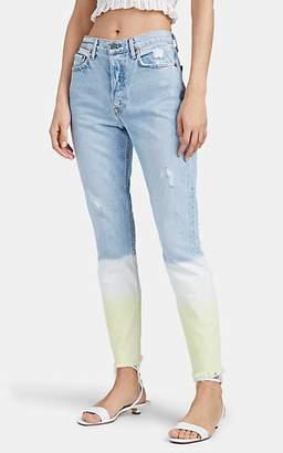 GRLFRND Women's Karolina Dip-Dyed Skinny Jeans