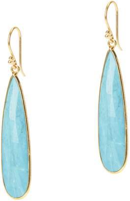JEMMA SANDS Newport Semiprecious Stone Teardrop Earrings