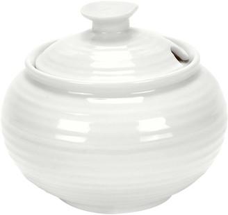 Sophie Conran White Porcelain Covered Sugar Bowl
