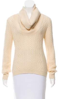 Brunello Cucinelli Long Sleeve Cable Knit Sweater
