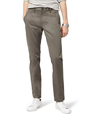 G Star Men's Trouser, Bronson slim chino, Premium micro str twill, gs grey, 1260, Grey, 28W x L