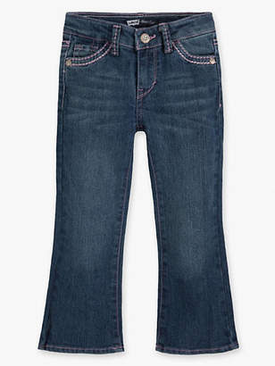 Levi's Toddler Girls 2T-4T 715 Taylor Thick Stitch Bootcut Jeans 2T