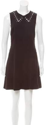 Rag & Bone Lace-Up Mini Dress