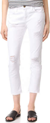 Current/Elliott The Cropped Straight Jeans $208 thestylecure.com