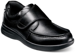 Nunn Bush Men's Cam-Strap Moc-Toe Lightweight Loafers Men's Shoes