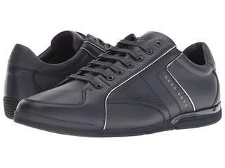 HUGO BOSS Saturn Leather Sneaker by BOSS Green