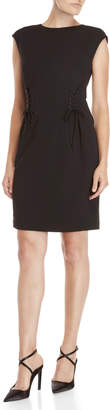 Vince Camuto Side Lace-Up Sheath Dress