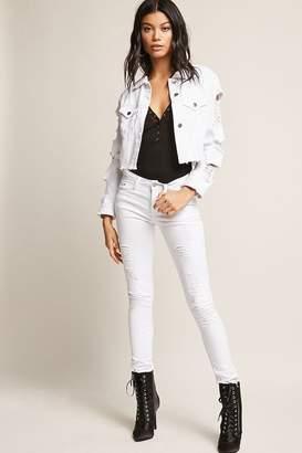 Forever 21 Distressed Denim Jeans