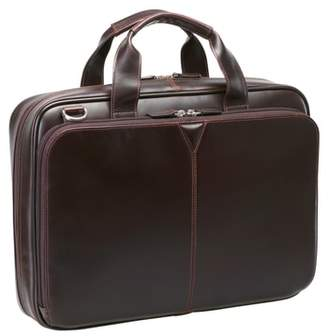 Johnston & Murphy Leather Briefcase