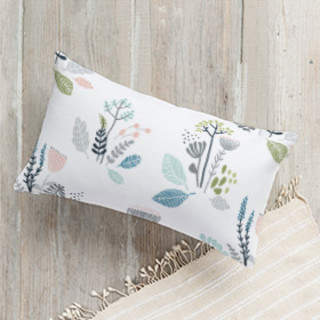 Wild Flowers Lumbar Pillow
