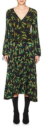 A.L.C. Women's Brooks Palm-Leaf-Print Dress