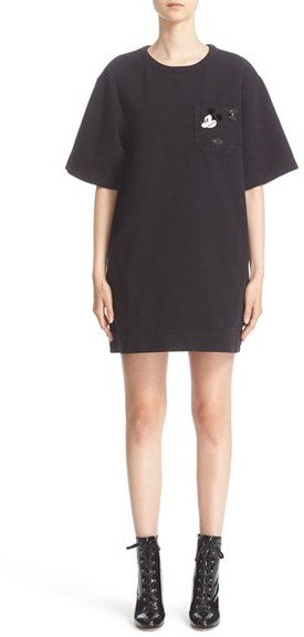 Marc JacobsWomen's Marc Jacobs 'Tabboo' Embroidered T-Shirt Dress