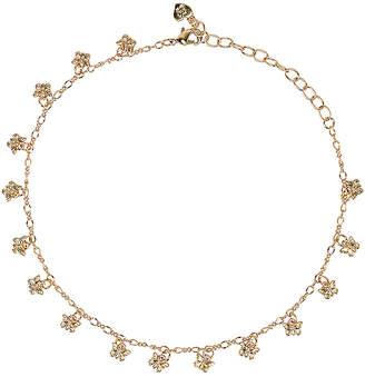 Frasier Sterling Butterflies Choker Necklace