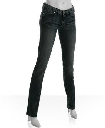 Paige meridian blue 'Skyline Drive' peg leg jeans