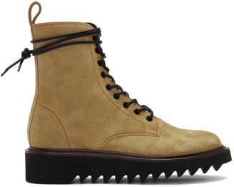 Giuseppe Zanotti Beige Nevada Boots