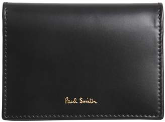 Paul Smith Card Holder With Iconic Stripes