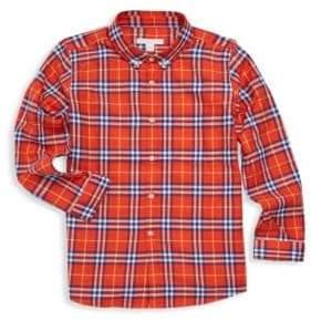 Burberry Little Boy's& Boy's Plaid Shirt