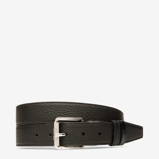 Bally Ripley 35Mm Black, Men's grained bovine leather adjustable/reversible belt in black