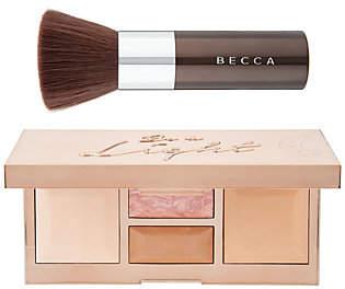 Becca Be a Light Palette and Kabuki Brush