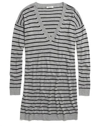 Madewell Striped Sweaterdress