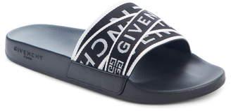 56e5612c8b39 Givenchy Logo Slide Sandal