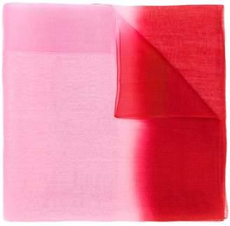 Emporio Armani transparency scarf