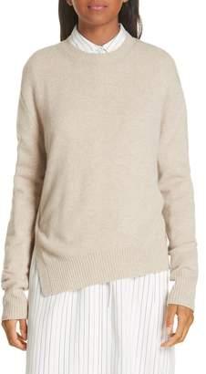 Vince Asymmetrical Cashmere Sweater