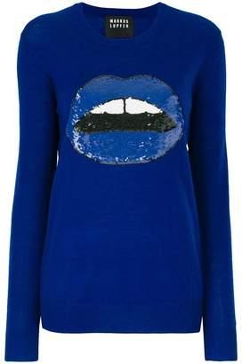 Markus Lupfer sequin Lara sweater