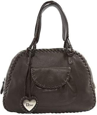 Christian Dior Leather tote