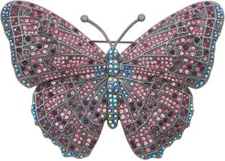 Joan Rivers Classics Collection Joan Rivers Midnight Crystal Butterfly Pin