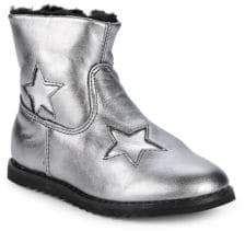 Old Soles Little Girl's & Girl's Faux Shearling Twinkle Boots