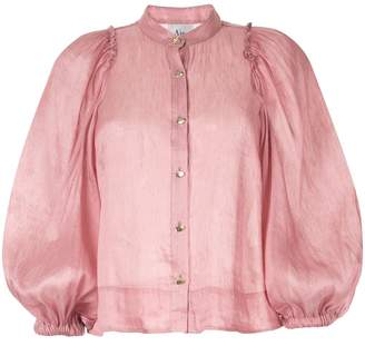 Aje balloon sleeves shirt