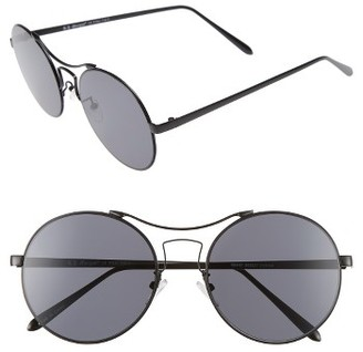 Women's A.j. Morgan Spacey 56Mm Sunglasses - Black $24 thestylecure.com