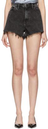 Alexander Wang Grey Bite Shorts