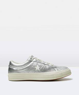 Converse One Star Ox Silver Egret Egret Shoe