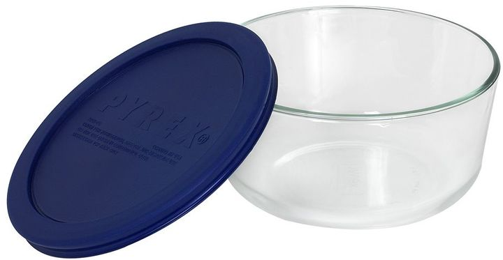 Pyrex Storage Plus 4-Cup Round Covered Bowl