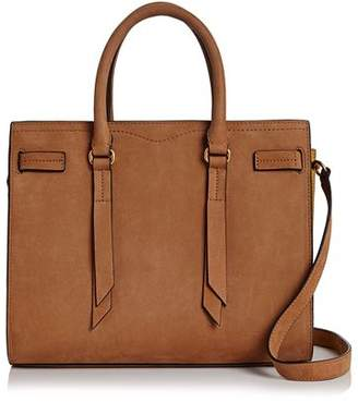 Rebecca Minkoff Sherry Nubuck Leather Satchel