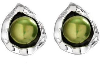 Hagit Gorali Sterling Bloom Cultured FreshwaterPearl Earrings