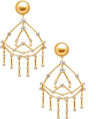 Rachel Zoe Mckenna Constellation Crystal Chandelier Earrings