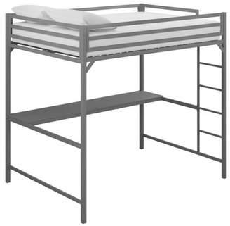 LOFT Room & Joy Full Max Metal Bed With Desk