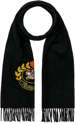 Burberry Crest Emblem Scarf