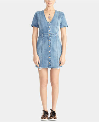 Rachel Roy Denim Mini Dress