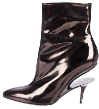 Maison Margiela Pointed-Toe Ankle Boots