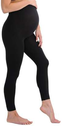 Tito Maternity Maternity Leggings with Belly Support Over The Bump Maternity Super Soft Black Tights