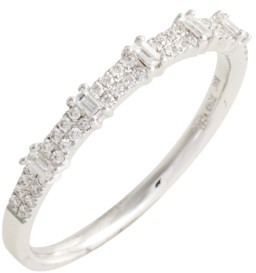 Women's Bony Levy Amara Diamond Stack Ring (Nordstrom Exclusive) $1,195 thestylecure.com