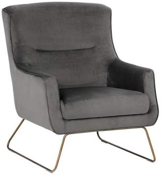 Sunpan Modern Home Holt Rustic Bronze Lounge Chair
