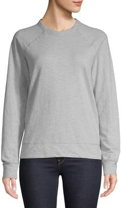Core Life Raglan-Sleeve Cotton Sweatshirt