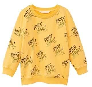 MANGO Surf printed sweatshirt