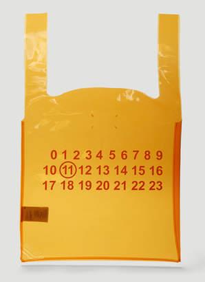 Maison Margiela Monoprix Tote Bag in Orange