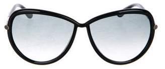 Tom Ford Sabrina Gradient Sunglasses